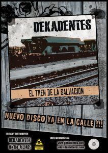 dekadentes flyer nuevo disco